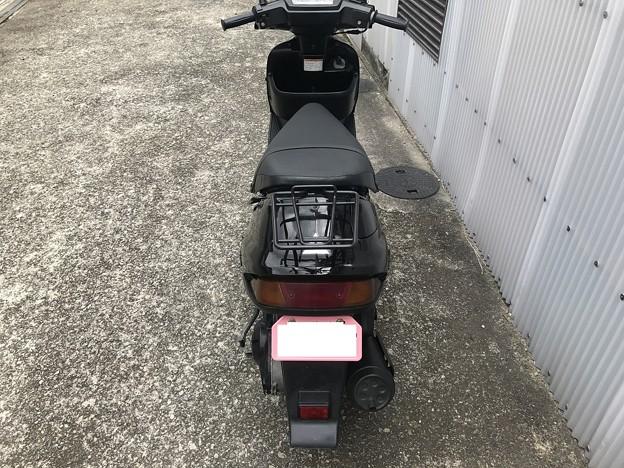 CE11A アドレスV100 黒 サイドスタンド (5)