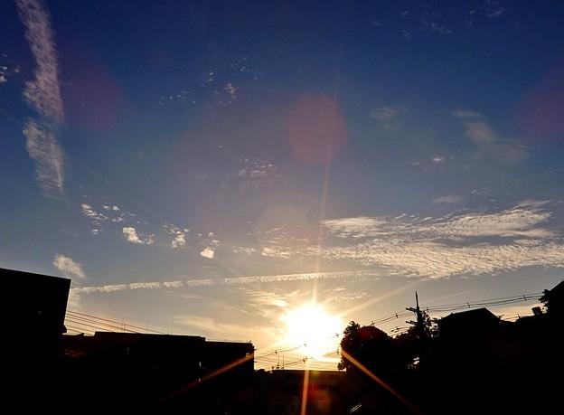 写真: 夕暮れ4