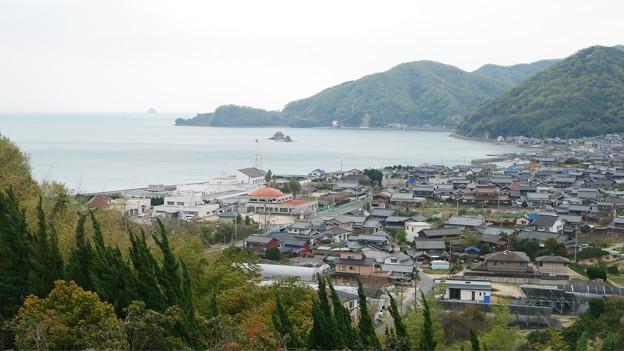 因島大橋(8)大浜PAより見た景色