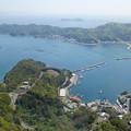 宇和海展望タワー(9)生け簀では鯛やハマチが養殖されているそう