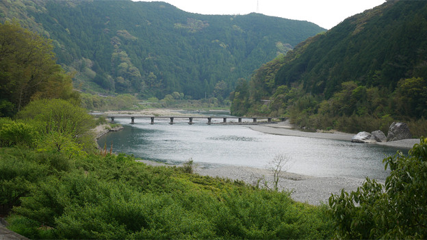 片岡沈下橋(2)