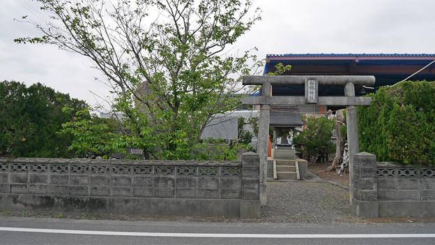 南国市前浜/招魂神社と忠霊塔 (1)