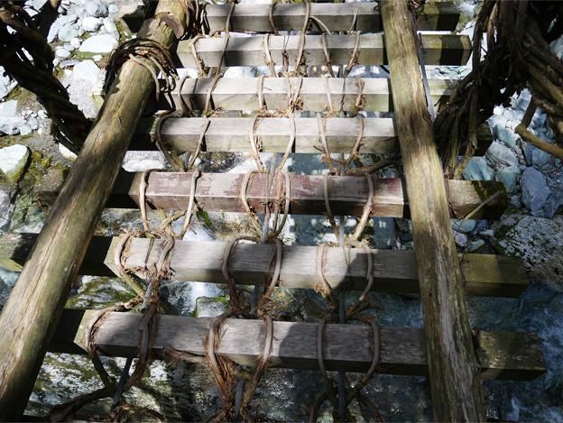 奥祖谷二重かずら橋 (9) 女橋