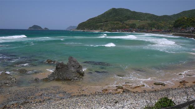 阿武郡阿武町の国道191号から日本海を見る (4)