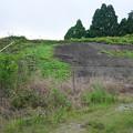 写真: 宮崎市本郷地区の掩体壕 1 (2)