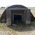 写真: 赤江飛行場の弾薬庫跡 (8)