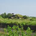 写真: 赤江飛行場の掩体壕。のお尻 part3