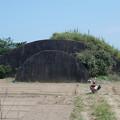 写真: 宮崎空港横の掩体壕 6号基 (6)