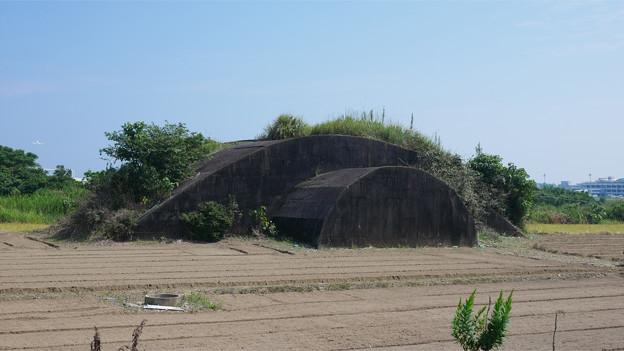 宮崎空港横の掩体壕 6号基 (5)