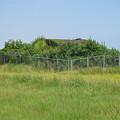 写真: 宮崎空港横の掩体壕 7号基 (2)