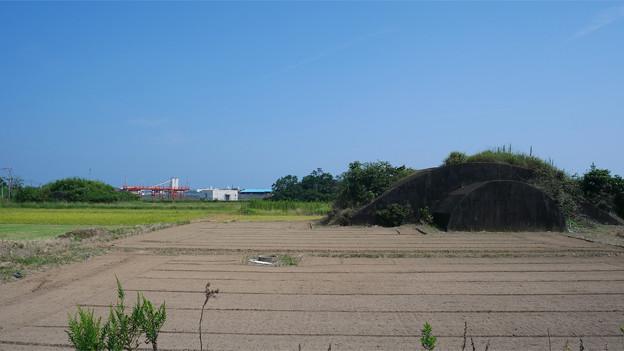 宮崎空港横の掩体壕 6号基 (9)