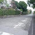 竹添邸前の通り (2) 竪馬場