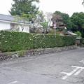 竹添邸前の通り (1)