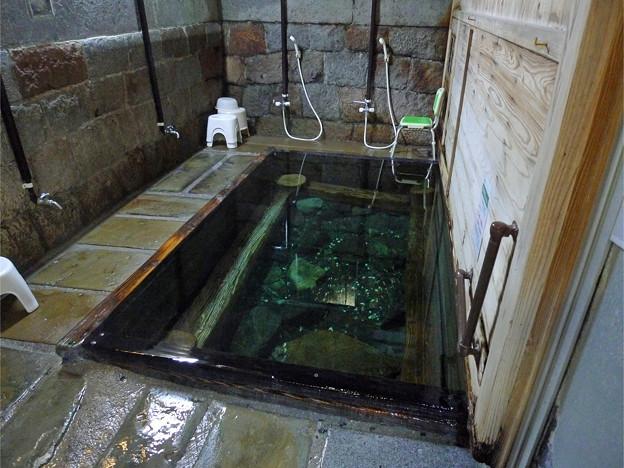 湯川内温泉 かじか荘 (20) 下の湯