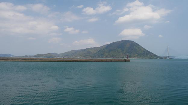瀬戸内海 大三島から見た生口島 (1)
