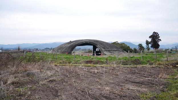 大刀洗飛行場の掩体壕 (7)