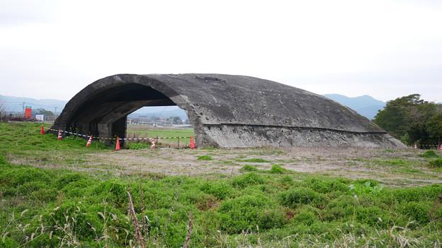 大刀洗飛行場の掩体壕 (5)