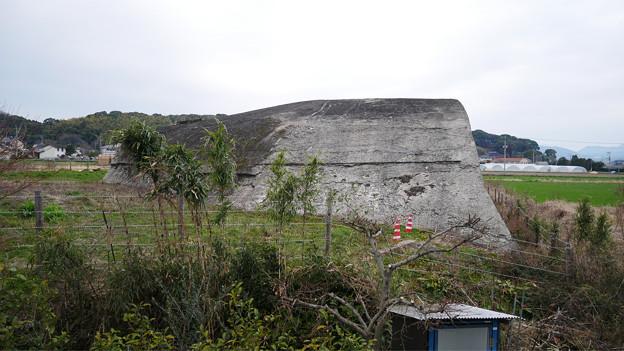 大刀洗飛行場の掩体壕 (2)