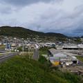 生月大橋から見た生月島の景色 (1)