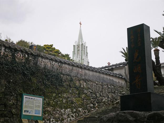 寺院と教会の見える風景 (3)