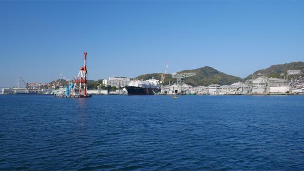 長崎港ターミナルから軍艦島クルーズ (3)