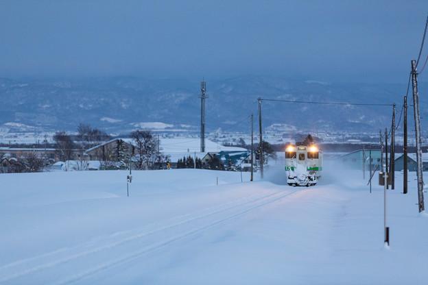 札沼線の冬_2