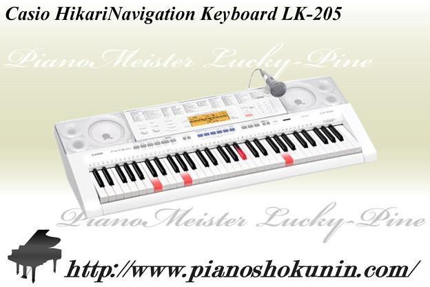 Casio HikariNavigation Keyboard LK-205