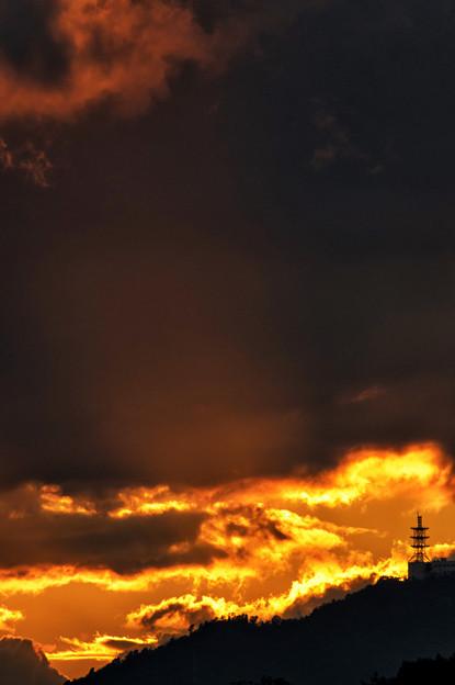 写真: 燃える思い