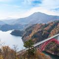 写真: 冬の架橋