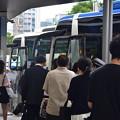 写真: 高速バス乗り場