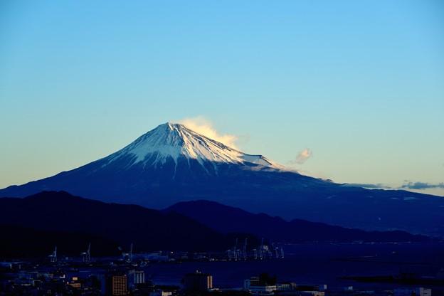 元旦 ご来光時の富士山
