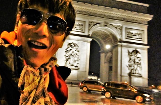 Cosmopolitan Rocklyan in Paris
