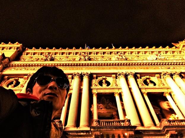 Cosmopolitan Rocklyan at Paris Garnier