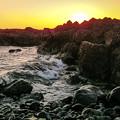 写真: 金光岩岸