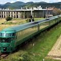 写真: 機関車庫跡