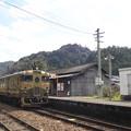Photos: 木造駅舎と或る列車