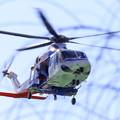 防災ヘリコプター「メイプル」 広島県防災航空隊
