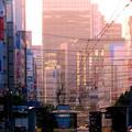 2)午前7時の風景