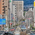 写真: 雨上がり・・今朝の交差点・・
