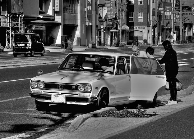 スカイラインGT(GC10型)通称「ハコスカGT」~正に昭和・・