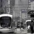 2)陽炎の街