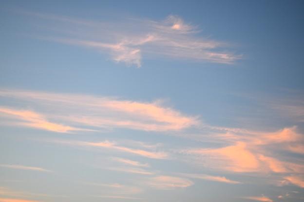 夕暮れの秋空 13