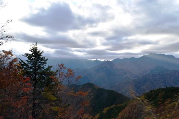 秋の山 4