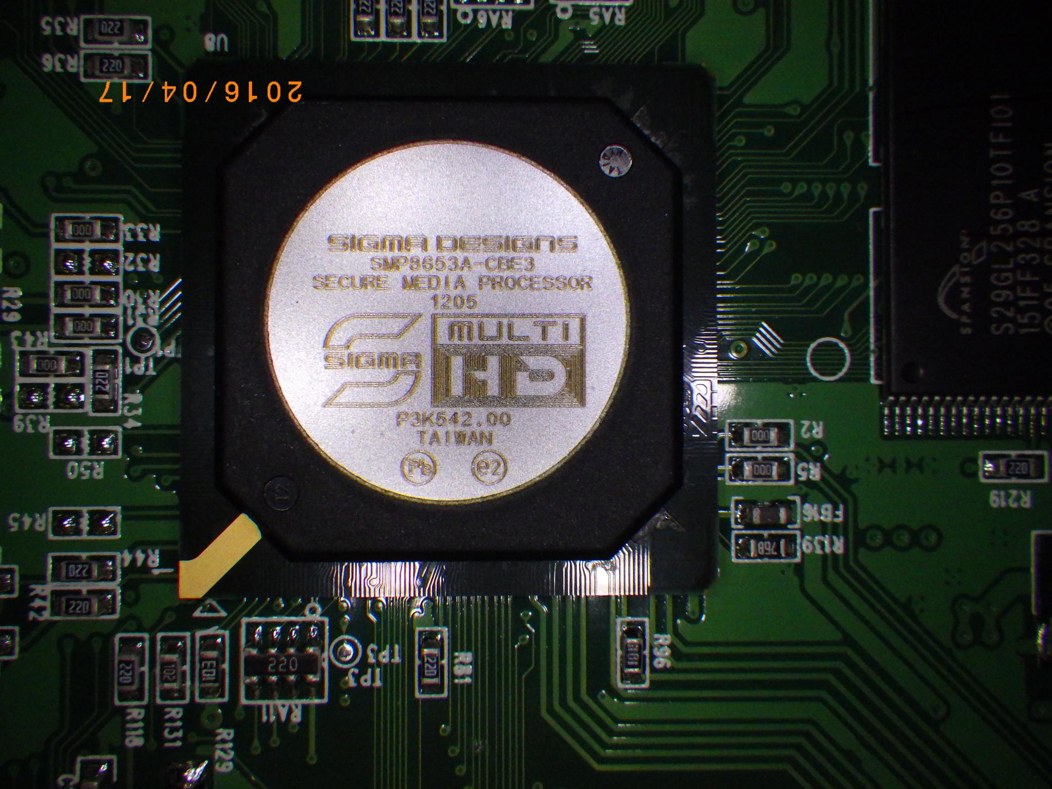 1Zのシステムチップ