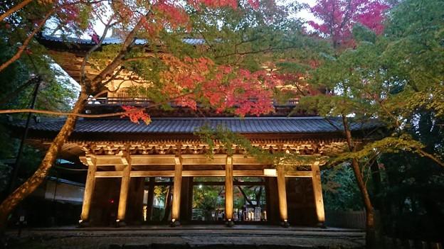 写真: 紅葉と永源寺(滋賀)