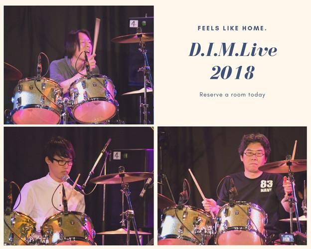 写真: D.I.M.Live2018(1)