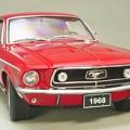 写真: AUTOart 1/18 Ford Mustang 1968 fastback の顔