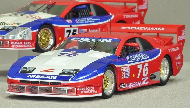 京商1/43 NISSAN 300ZX TWIN TURBO GTS 1994