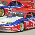 写真: 京商1/43 NISSAN 300ZX TWIN TURBO GTS 1994