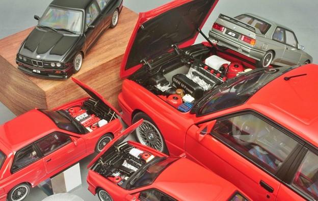 Photos: AUTOart modelcar BMW M3 E30